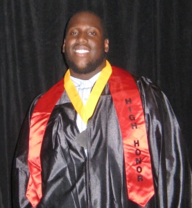2009 Valedictorian Zurrell Toney