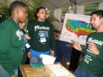 YouthBuild student Barbara Ford observes a demonstration during a green class
