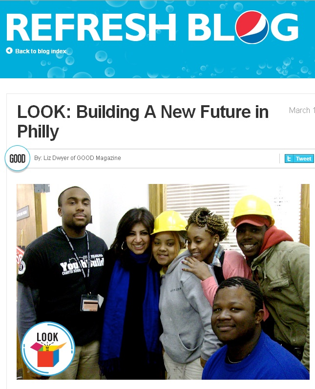 Pepsi Refresh Blog: Building a New Future in Philly