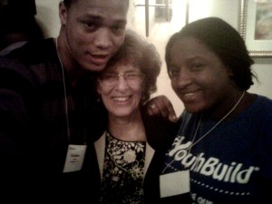 Rashon Thomas, Dorothy Stoneman and Shakila Alexander