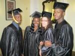 Graduates prepare to recieve diplomas