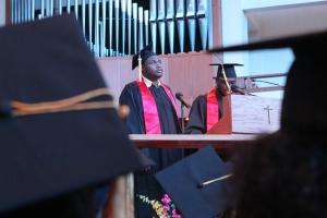 Valedictorian Anthony Keys