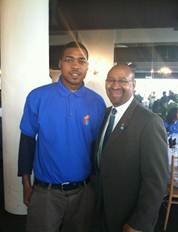 Khalil with Mayor Nutter